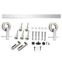 Intersteel schuifsysteem RVS met hangrollen Top openwiel 0035.450122