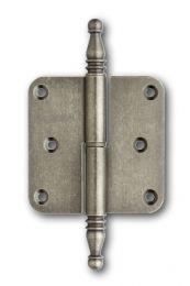 Skantrae paumelle old silver 76x76mm (OSR) scharnier met vaas links