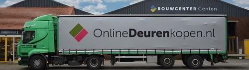 Onze vrachtwagen bij Van Eijk Transport